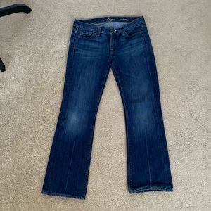 7 For All Mankind Bootleg Jean 27